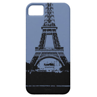 Blue Eiffel Tower Phone Case