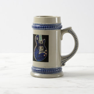 Blue Electric Guitar Mug 2