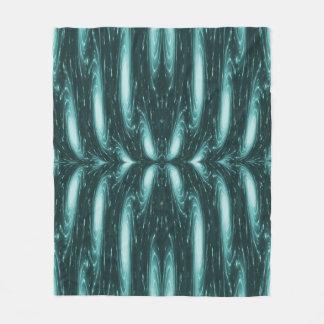 Blue Electricity Custom Fleece Blanket
