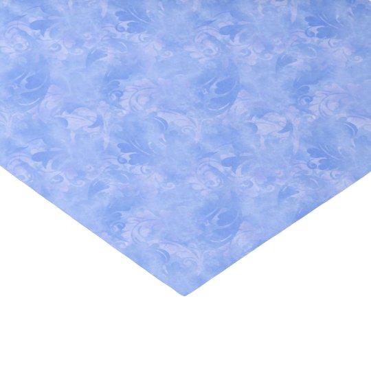 Blue Elegance Aqua Subtle Winter Azure Sapphire Tissue Paper