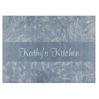 Blue Elegant Cutting Board