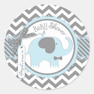 Baby Shower Stickers, Baby Shower Custom Sticker Designs
