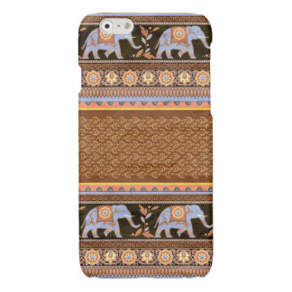 Blue Elephant Indian Design iPhone Case