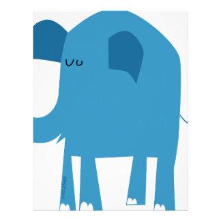 Blue Elephant Letterhead