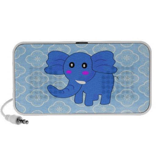 Blue Elephant Portable Speaker