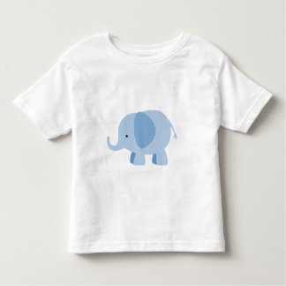 BLUE ELEPHANT TODDLER T-SHIRT