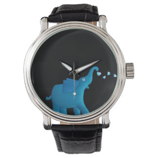 blue elephant watch
