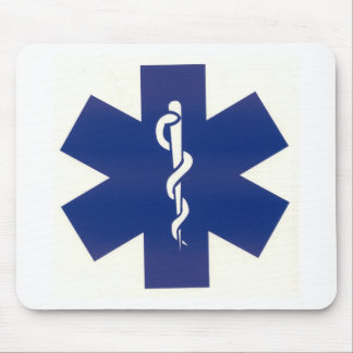 Blue EMT Mouse Pad