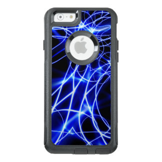 Blue Energy Lines, Fantasy Blue Flash OtterBox iPhone 6/6s Case