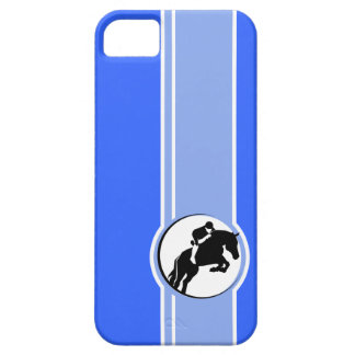 Blue Equestrian iPhone 5 Case