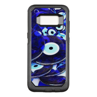 Blue Evil Eye amulets OtterBox Commuter Samsung Galaxy S8 Case