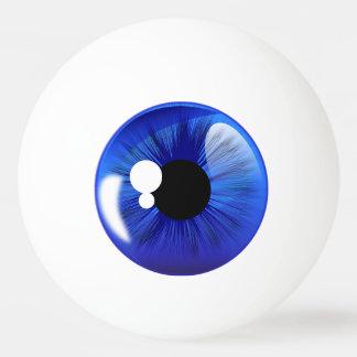 Blue Eye Ball Iris Funny Novelty Ping Pong Ball