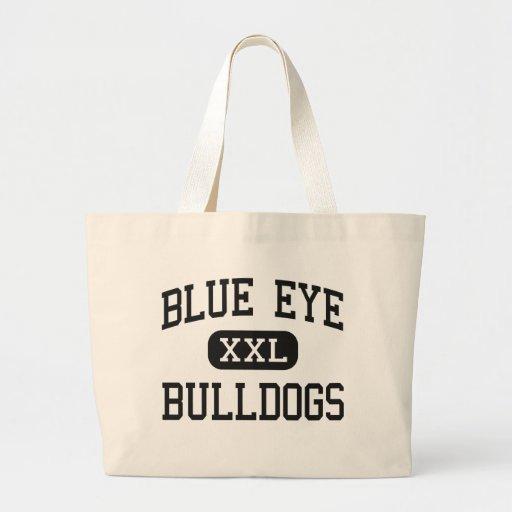 Blue Eye - Bulldogs - Senior - Blue Eye Missouri Tote Bags