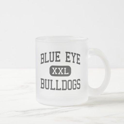 Blue Eye - Bulldogs - Senior - Blue Eye Missouri Coffee Mugs