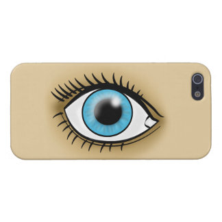 Blue Eye icon Cover For iPhone 5/5S