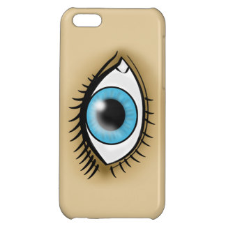 Blue Eye icon Cover For iPhone 5C