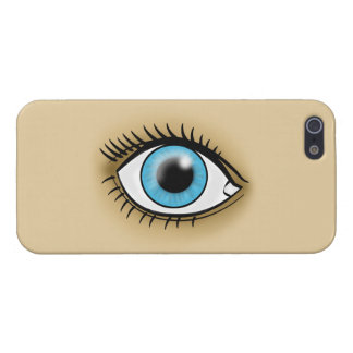 Blue Eye icon iPhone 5 Covers