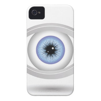 blue eye iPhone 4 cover
