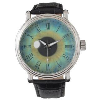 Blue Eye Iris Eyeball Cool Custom Wrist Watches