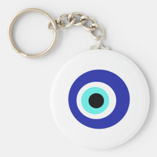 Blue eye keychain