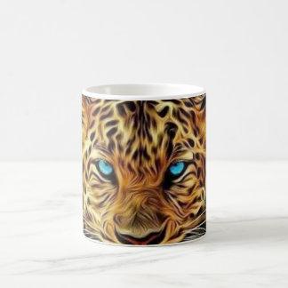 Blue Eye Leopard Coffee Mug
