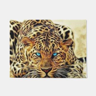 Blue Eye Leopard Doormat