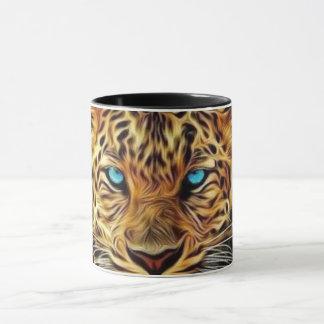 Blue Eye Leopard Mug