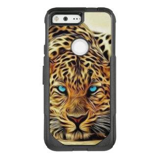 Blue Eye Leopard OtterBox Commuter Google Pixel Case