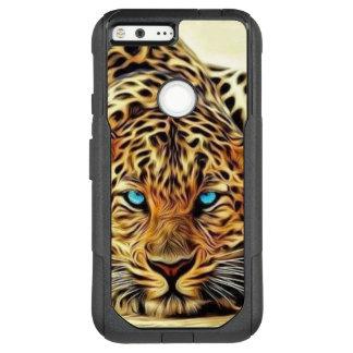 Blue Eye Leopard OtterBox Commuter Google Pixel XL Case