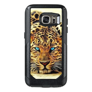 Blue Eye Leopard OtterBox Samsung Galaxy S7 Case