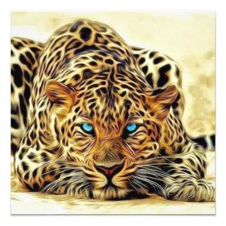 Blue Eye Leopard Photo Print