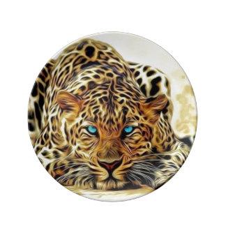 Blue Eye Leopard Plate