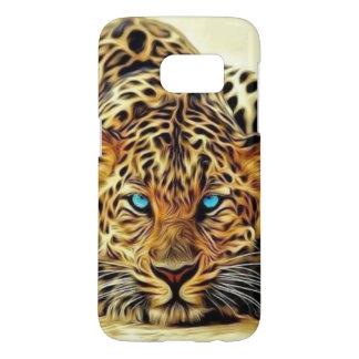 Blue Eye Leopard Samsung Galaxy S7 Case