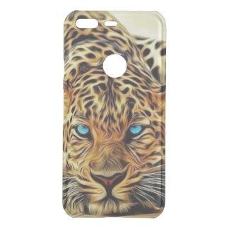 Blue Eye Leopard Uncommon Google Pixel Case