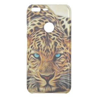 Blue Eye Leopard Uncommon Google Pixel XL Case