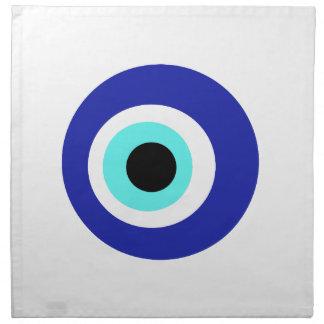 Blue eye napkin