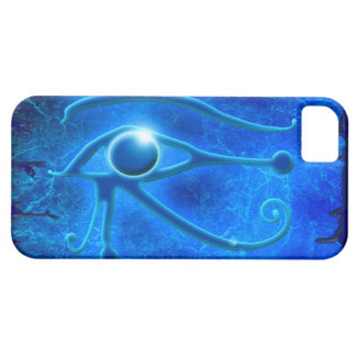 Blue Eye of Horus, Wadjet Egyptian iPhone 5 Case