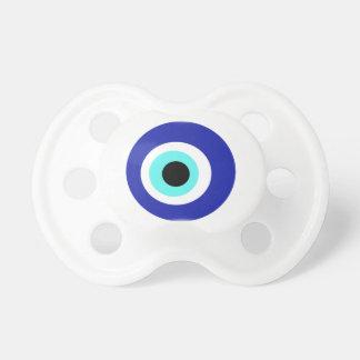 Blue eye pacifier