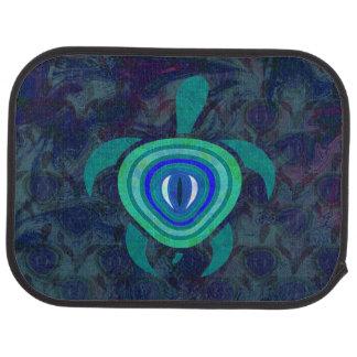 Blue Eye Turtle Floor Mat