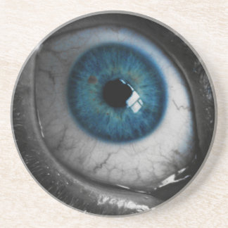Blue Eyeball Coaster