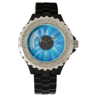Blue Eyeball Wrist Watches