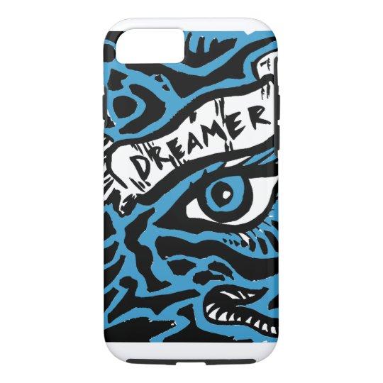 Blue Eyed Dreamer iPhone 7 Case