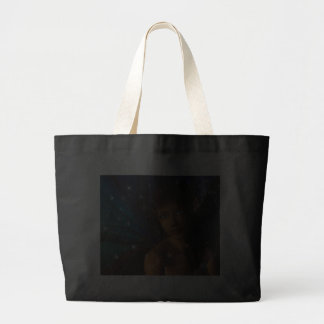 Blue Eyed Faerie Tote Bags