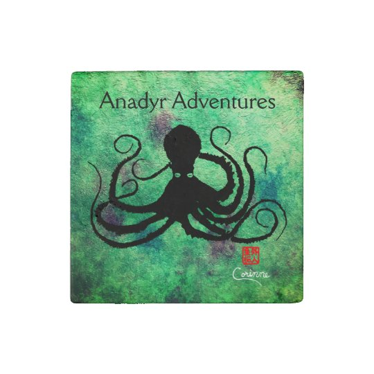 Blue-Eyed Octopus, Anadyr Adventures - Magnet Stone Magnets