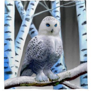 BLUE-EYED SNOW OWL