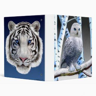 BLUE-EYED SNOW OWL BINDERS
