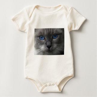 Blue eyes baby bodysuit