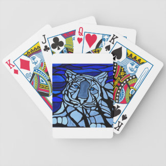 Blue Eyes Bicycle Playing Cards
