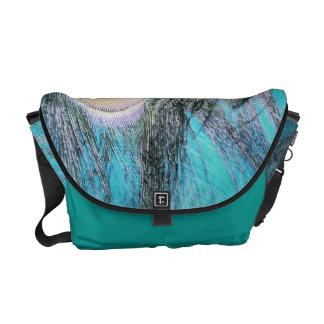 Blue Eyes Courier Bag