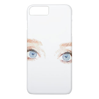 Blue Eyes iPhone 8 Plus/7 Plus Case